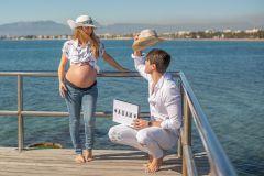 Reportaje fotográficos de embarazos